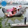 Navio anti-estouro que lança o airbag marinho de levantamento