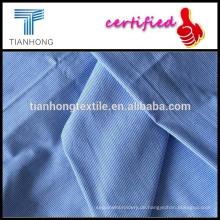 Vertikale Streifen Garn gefärbtes Gewebe/senkrechte Linie Garn gefärbt Stoffe / ein Mann t-Shirt Stoff