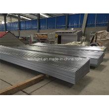Chapa de acero inoxidable Chapa de acero galvanizada