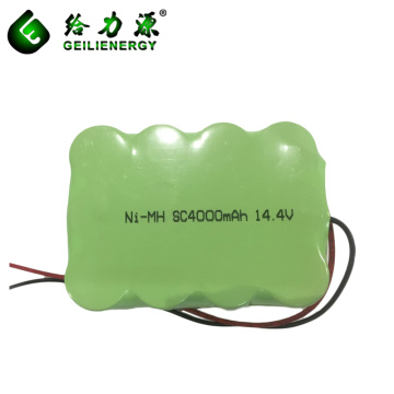 SC4000mAh 14.4v Ni-mh Batería recargable