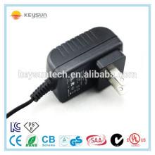 Shenzhen UL classé 12v 0.5a adaptateur de commutation de puissance de mouche pour LED