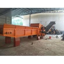Biomass veneer wood chipper machine with CE