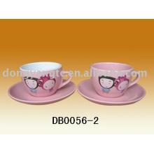 Las tazas de cerámica al por mayor directas del café expresan directo, sistema de la taza del café express