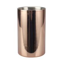 Cubo de hielo de acero inoxidable de cobre para uso en barra