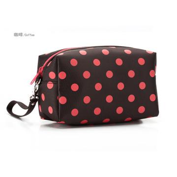 d 230 sacos cosméticos poliéster impermeável de linda