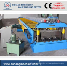 High Productivity Floor Deck Panel Roll Forming Machine with Low Consumption