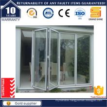 New Design Entrance Aluminium Folding Door/Bi-Folding Door