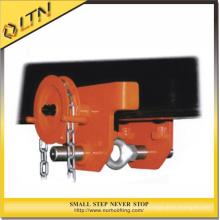 0.5-5t Hoist mit Monorail Trolley / Getriebe Beam Trolleys Clamp