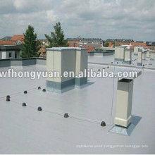 Anti-UV PVC Polymer Single-Ply Roof Waterproof Foil (ISO)