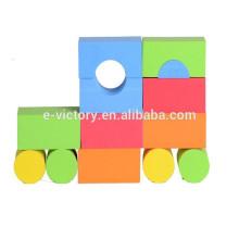 Ева образования строительного блока образования просветить популярные детские пластмассовые игрушки строительный блок