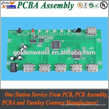 Ensamble electrónico del pcb del servicio de la asamblea del PWB / pcba / pcb y componentes proveedor