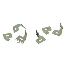 Peças estampadas de metal Allred personalizadas