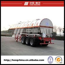 Semirremolque tanque de GLP para la entrega de Gas GLP