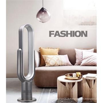 LIANGSHIFU Key-Press Ventilateur de plancher sans lame de 18 pouces à refroidissement par air