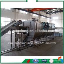 China Espiral Tipo Blanching Machine Equipamento