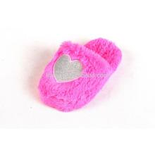 funny pink cute audit warm plush indoor slipper