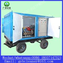 Sistema de limpeza de tubos de trocador de calor de usina