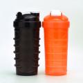 Impressão de logotipo de frasco de shaker de 700 ml, garrafa de joyshaker de agitador de plástico, garrafa de proteína shaker