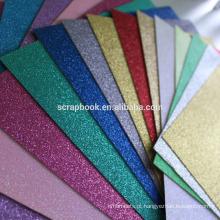 Cartão holográfico textura grossa de alta qualidade com cor de todos os tipos