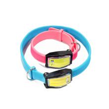 private label dog water proof dog collar luxury custom pet collar pvc dog collar