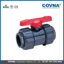 Оросительный пластиковый шаровой клапан UPVC