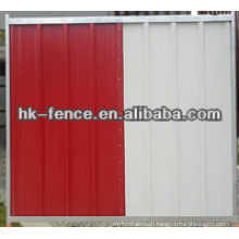 0.4mm thickness Steel board temporary fence Colorbond Fence