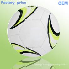 2015 nuevas bolas de fútbol de encargo de encargo de los balones de fútbol de los productos frescos del fútbol del diseño nuevo