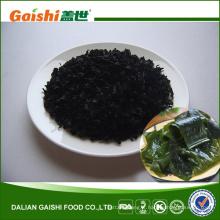 Algues vertes comestibles fraîches séchées
