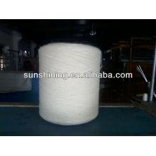 100% 16NM / 3 reines Wollgarn rohweiß für Teppich