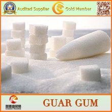 Guar Gum Großhandelsqualitäts-Nahrungsmittelgrad-Guar-Gummi