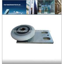 Schindler ascenseur QKS9 porte cintre droit, rouleau de porte d'ascenseur