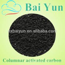 Antracita de alta calidad para el carbón activado de la columna del valor del yodo 1030