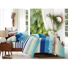 Drap de lit imprimé de pigment /Duvet couverture ensemble