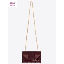 2014 Winter New Designer Fake Suede Shopping Bag Cross Bag (NMDK-B1012)