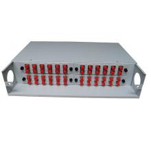 PG-ODF2026 Caixa de terminação de fibra óptica montada em rack de 19 polegadas