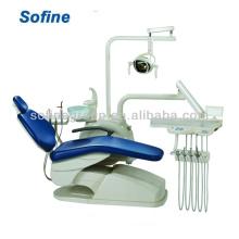 HOT Sale Unidade dentária montada Elegante cadeira de unidade dental com CE Anle Dental Unit