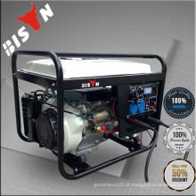 BISON (CHINA) Gerador Soldador Máquina de solda de gasolina de uso duplo