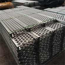 Serrated Perforated Metal Sheet Stair Tread