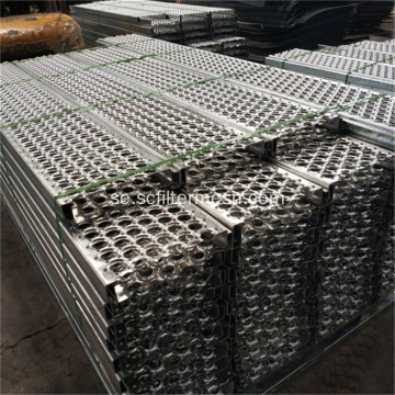 Serrated Perforated Metal Sheet Trappsteg