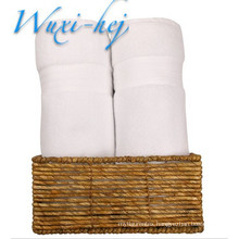 Luxury Pure white cotton Bath Towels for hotel