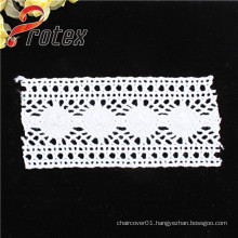 White High Quality Polyester /Cotton Lace Fabric