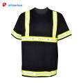 2018 safty nouvelles chemises de sécurité noires élégantes