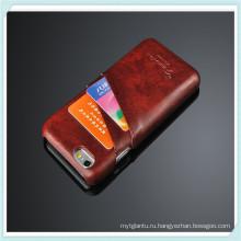 Бешеный конь Слот для карты PU кожаный чехол для iPhone 6S плюс