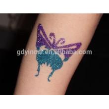 Цвет Временные Блеск Пудра Для Тела Стикер Татуировки