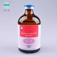 Injeção de medicina animal eficiente Oxytetracycline 20% Injection