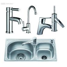 Single Handle Brass Wash Basin Faucet Tap Water Tap