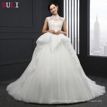 SL-040 Custom Made Alibaba Wedding Dress Bridal Gowns 2017