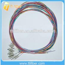 50/125um LC Fiber Optic Pigtail 12 Colors