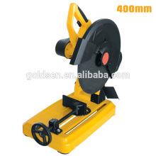 """400mm 16 """"3000W hierro de corte cortado Saw eléctrico de corte de metal Saw mano GW80400A"""