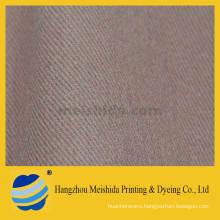 Brushed cotton twill fabric